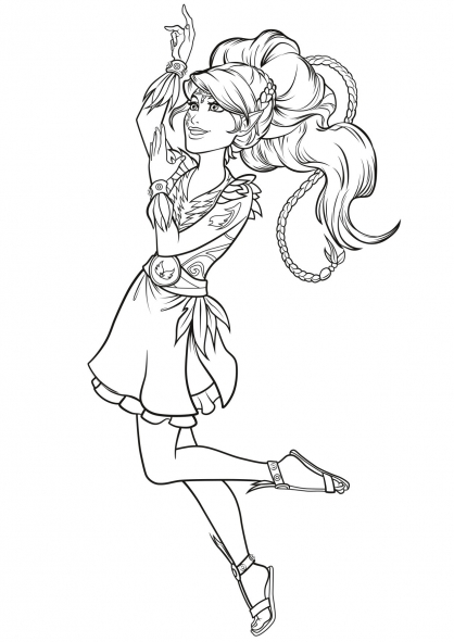 free coloring of elves