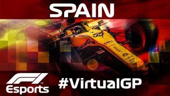 F1公式バーチャルGP第5戦スペイン:アロンソも観戦。ルクレールが ...