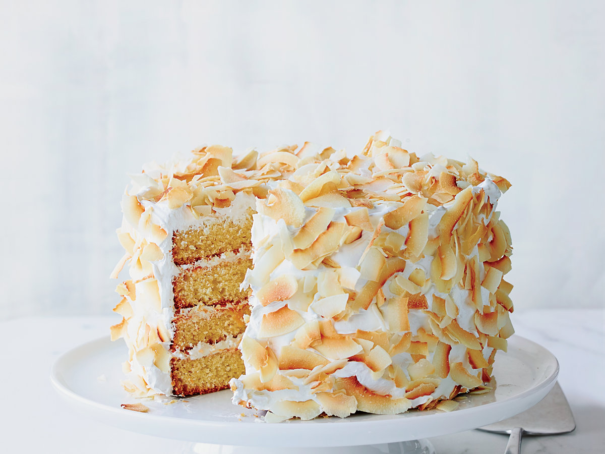 Four Layer Coconut Cake Recipe Michelle Polzine Food
