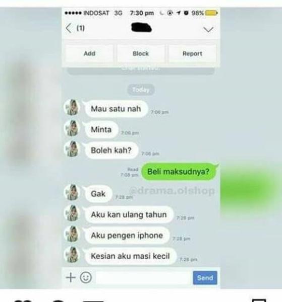 %name 10 Chat Kocak Buktikan Bahwa Negara+62 Belum Siap Jual Beli Online
