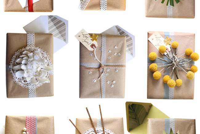 5 Unique Gift Wrap Ideas You'll Never Find