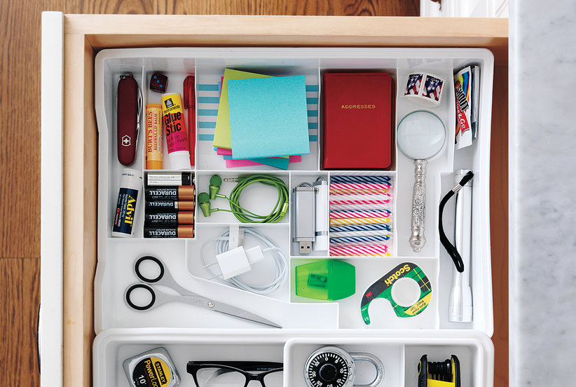 Junk Drawer No More 15 Organizing Ideas For Your Drawers