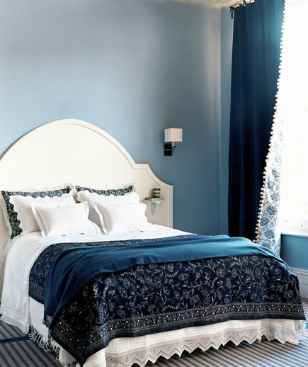 Shades Of Blue 30 Modern Bedroom Ideas Real Simple
