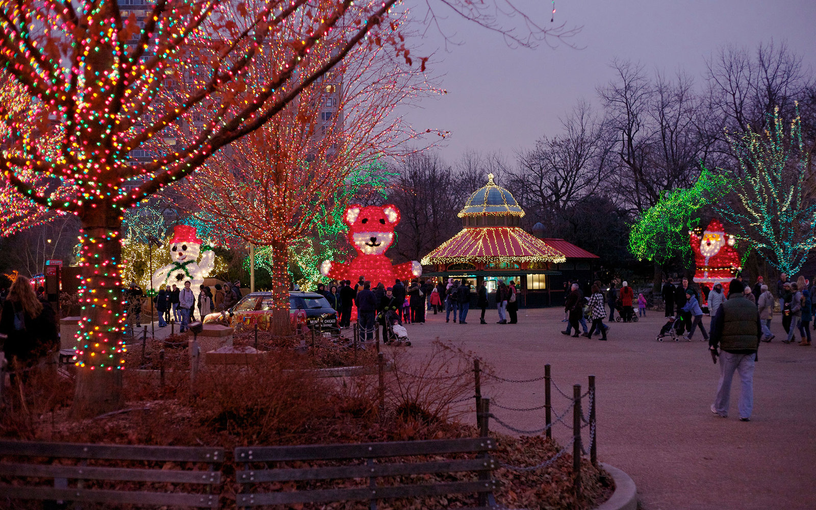 Zoo Lights Lincoln Park Zoo