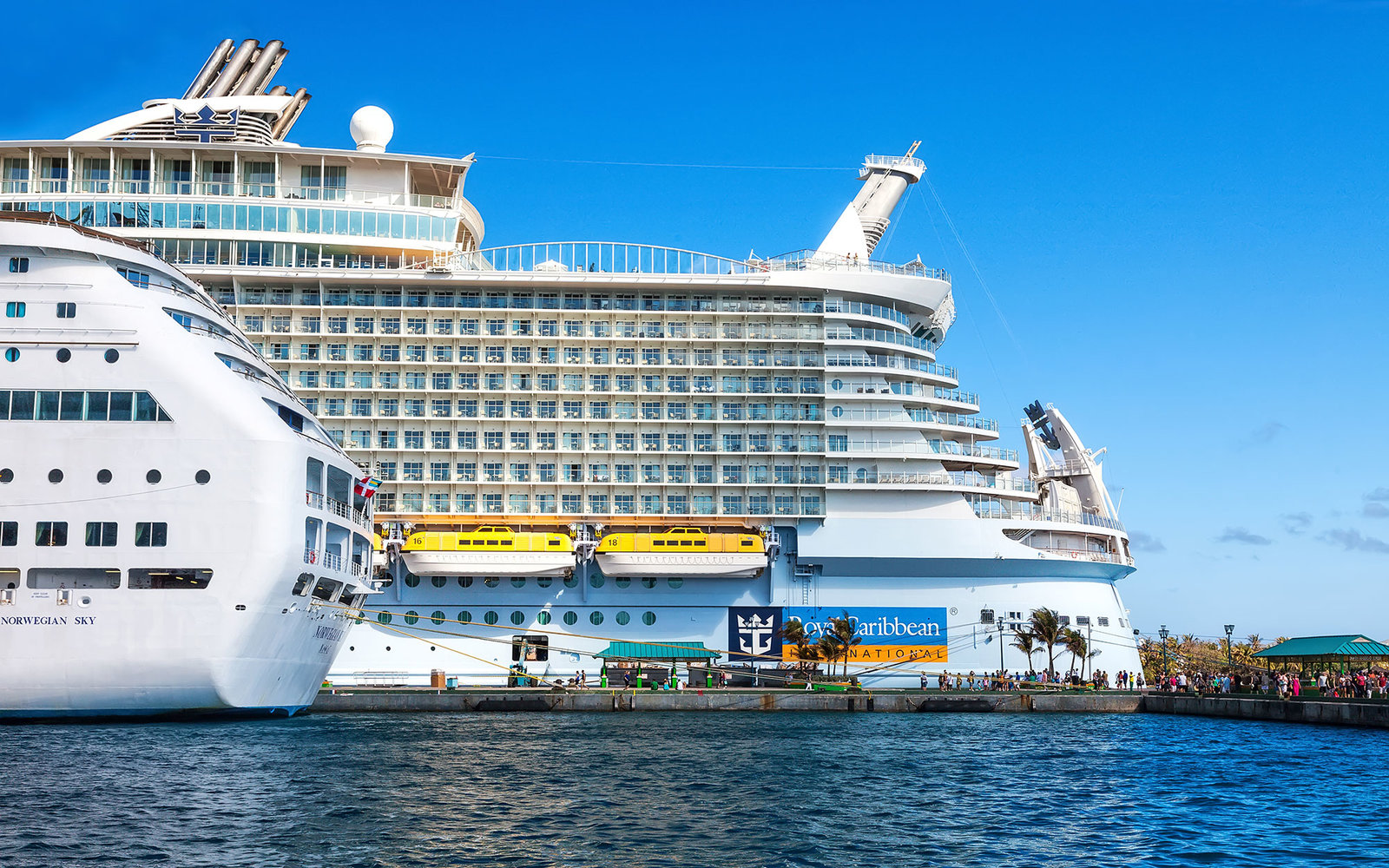 Worlds Biggest Cruises Ship Completes First Trial