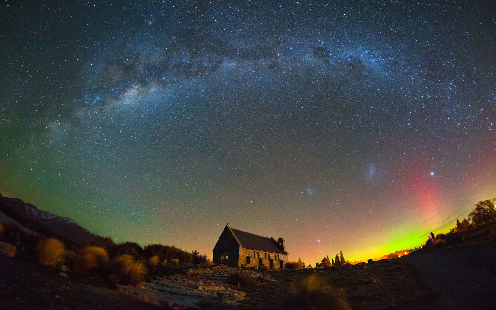 Image result for stewart island new zealand southern lights