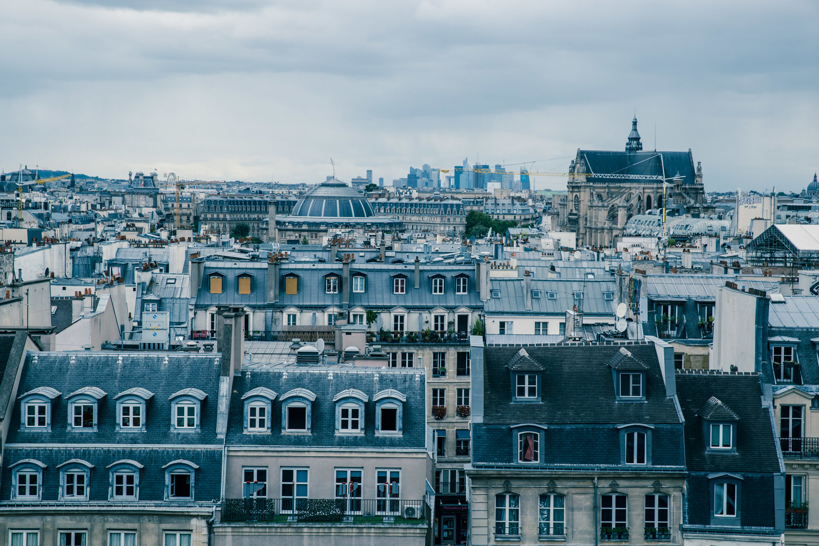 Image result for picture of parisian rooftops