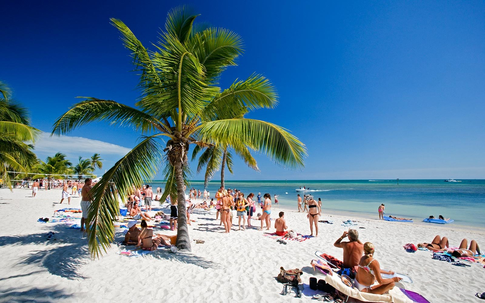 The Best Places to Travel in the U S  in February   Travel   Leisure Key West Florida Beach