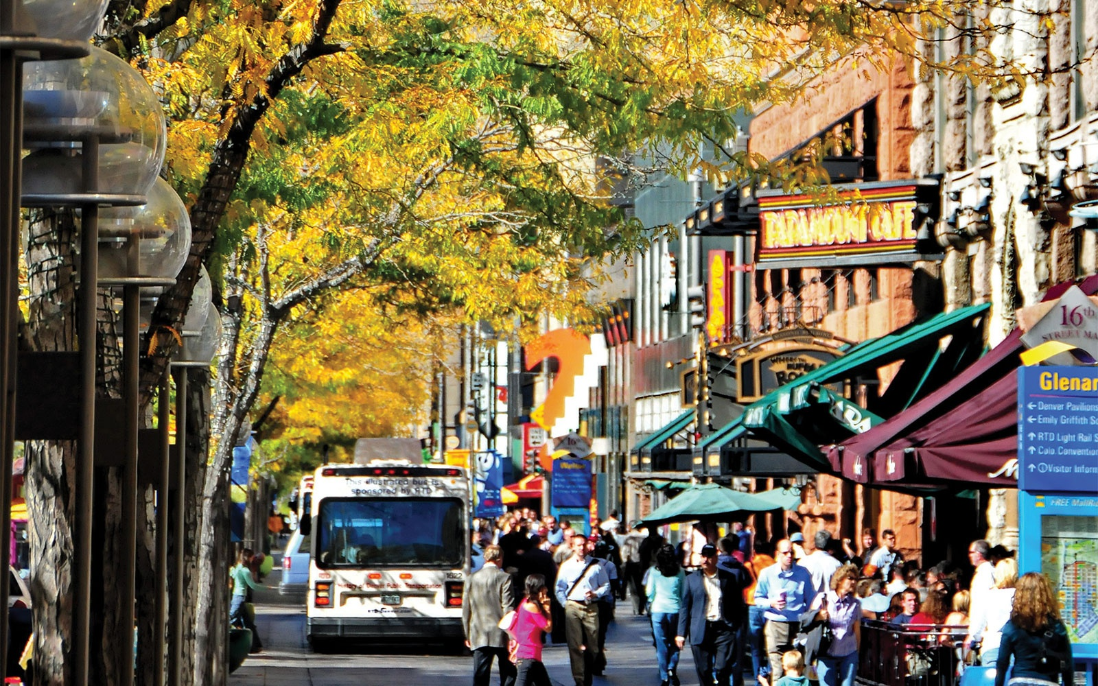 The Best U S  Cities for Fall Travel   Travel   Leisure Denver  Colorado in the fall
