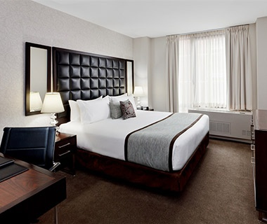 Guest Hotel Beds At The Distrikt In New York City Ny