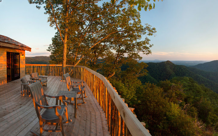 46. The Lodge and Cottages at Primland, Meadows of Dan, Virginia