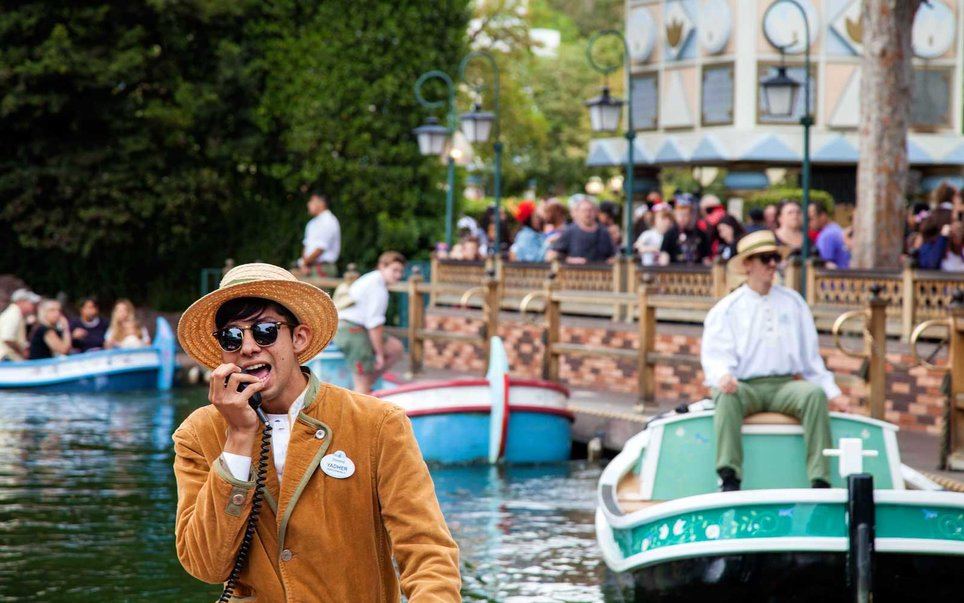 22. Storybook Land Canal Boats