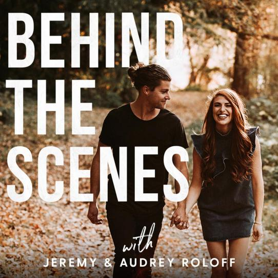 Image result for behind the scenes jeremy and audrey