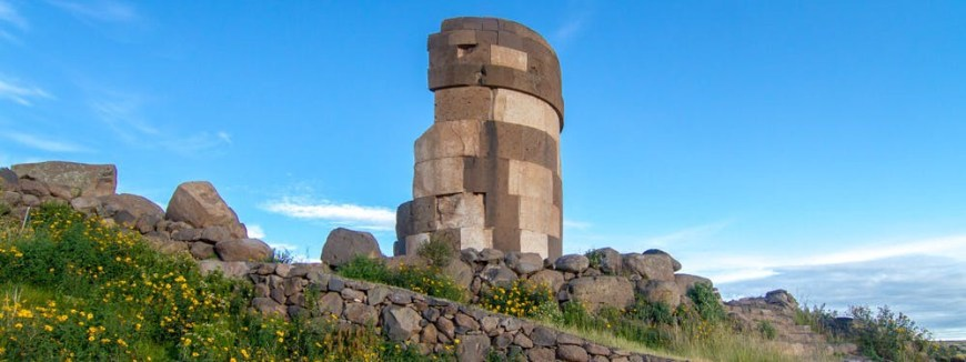 Best Hikes In Peru Image: One of the stone towers now lay in ruins, and forms a semicircle.
