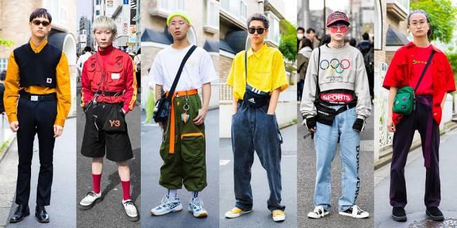 Sporty Ironic Retro Streetwear