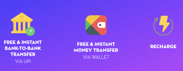 Hike Wallet and UPI payments