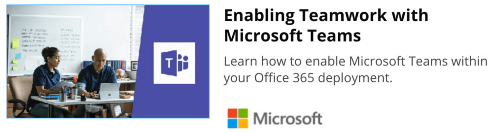 Microsoft Teams learning courses