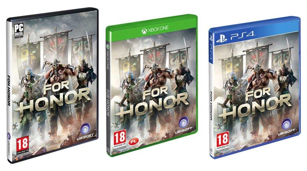For Honor disponível para PC, PS4 e Xbox em fevereiro de 2017.