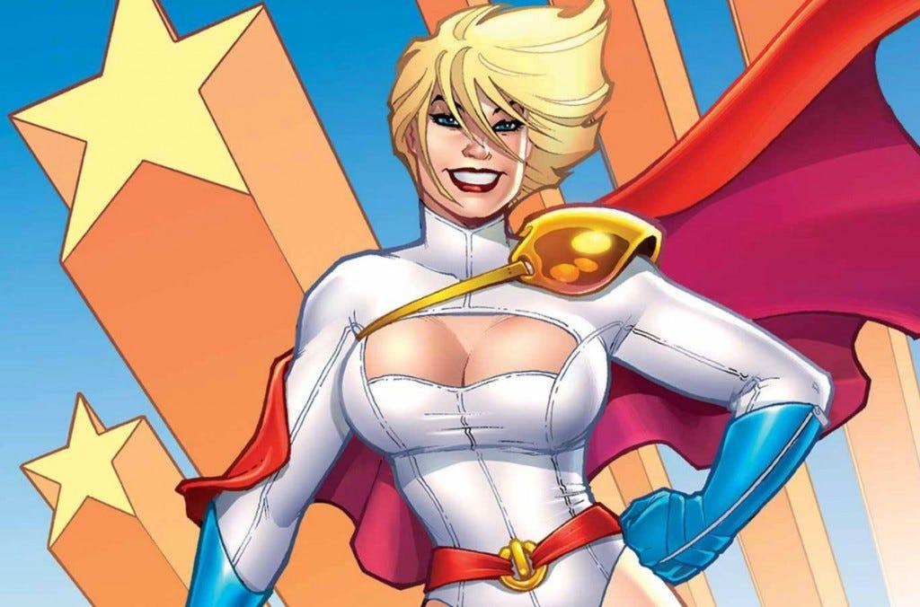 Power Girl - Legends of Tomorrow