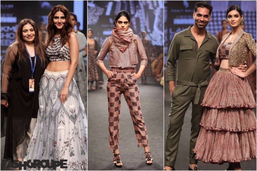 Punit Balana And Agami By Neha Agarwal Brought Fashion Drama At     Punit Balana And Agami By Neha Agarwal Brought Fashion Drama At Lakm     Fashion  Week 2018