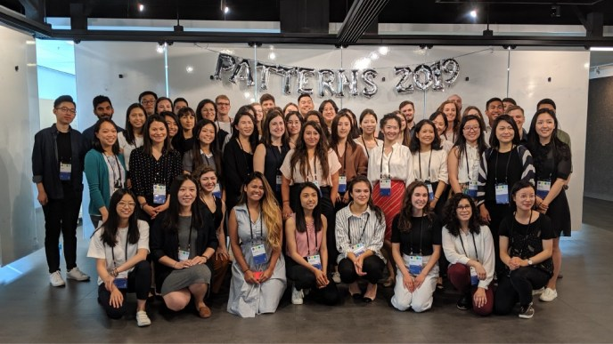 This is a photo of the Patterns Cohort of Summer 2019.