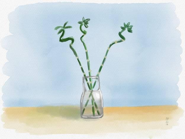 1*CGNZJr0PV2Fb_WCkbXX1Kg Saturday—Three bamboo sticks Art