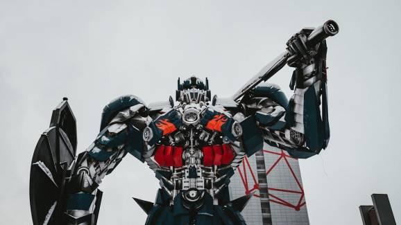 A sweet Transformer statue