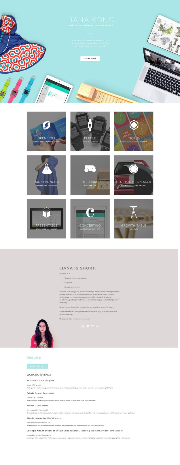 1*asllMyzrqMxc6vAsy3w7JA 5 great design portfolios from students who are hired by Google and Facebook Design Random