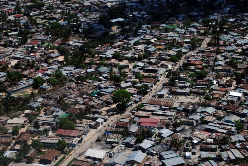 Destinations Worth Dreaming Image: An aerial view of a thriving city scene in Tanzania.