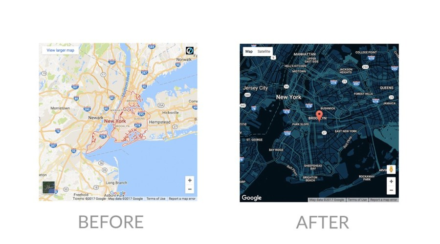 How to create a custom Google map using Snazzy Maps Have you ever embedded a Google map location to your site and felt like the  colours were completely out of branding  Have you tried using custom map