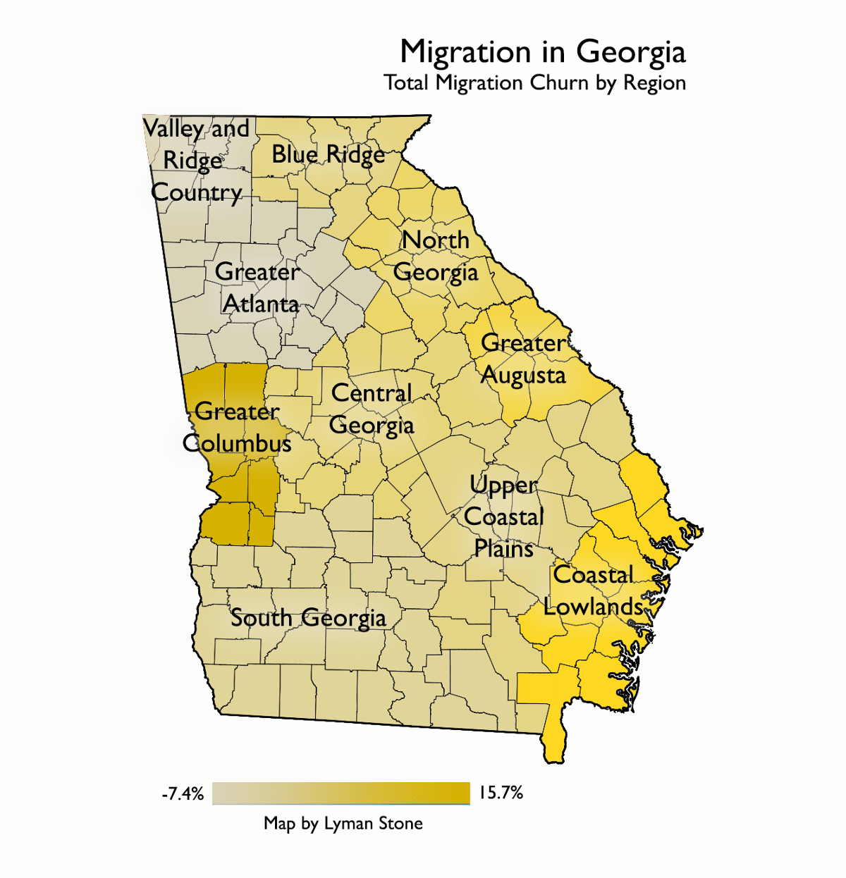 Mapping Migration In Georgia In A State Of Migration Medium