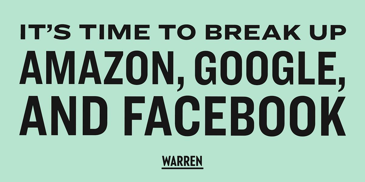 Here's how we can break up Big Tech