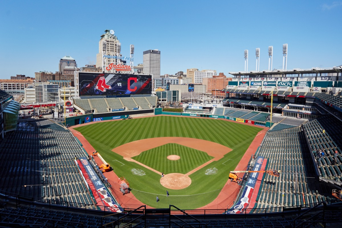 Cleveland Field Mlb Indians