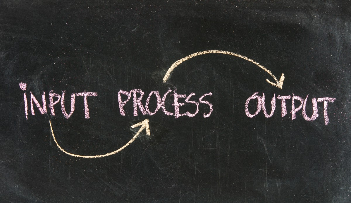 Input Process Output Feedback Examples