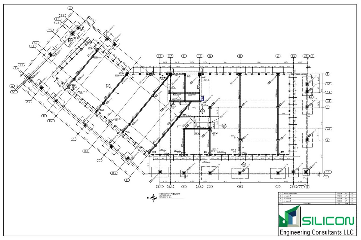Steel Fabrication Shop Drawings Services At Wisconsin