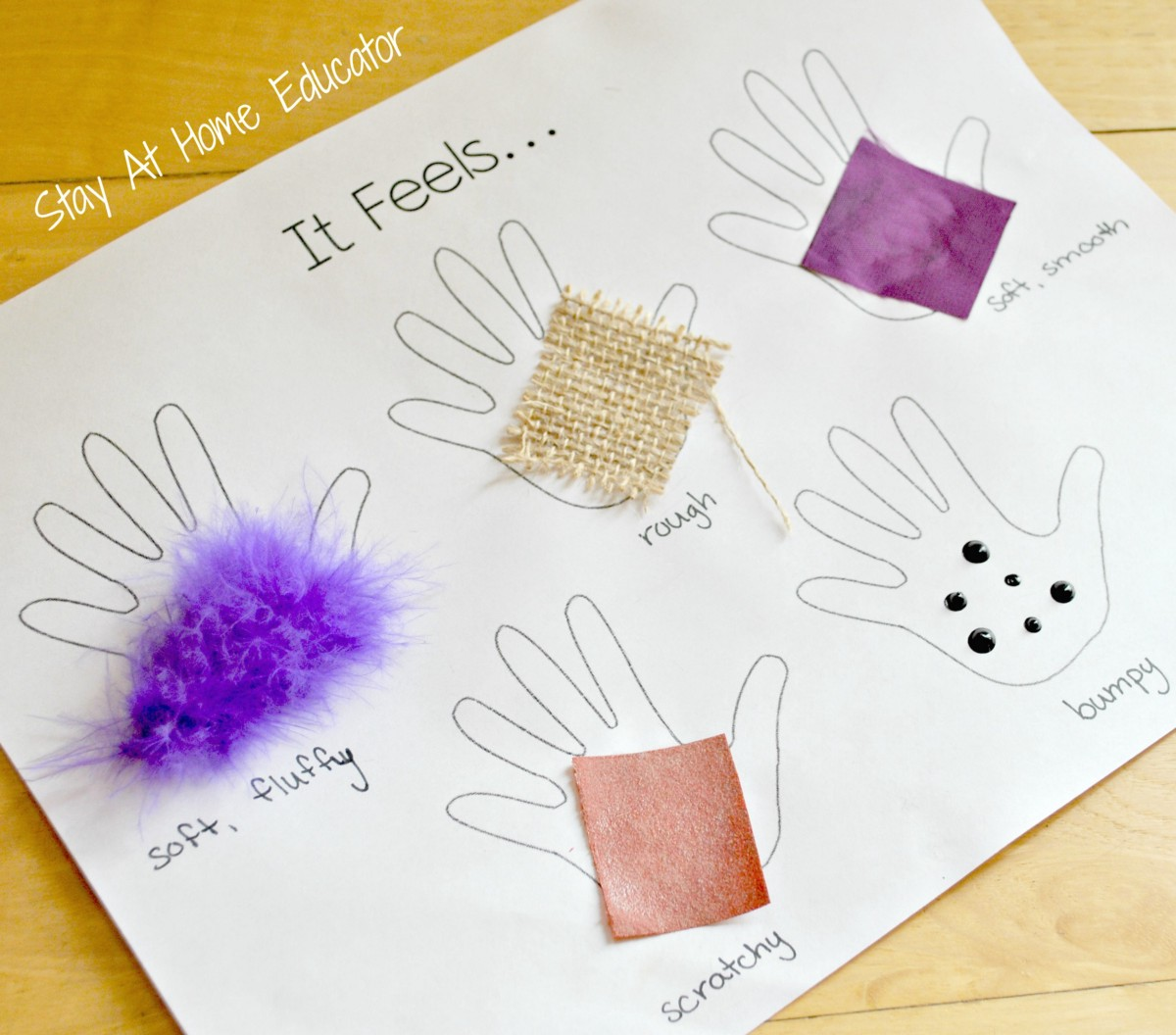Mini Lesson Plan Texture Littlelives