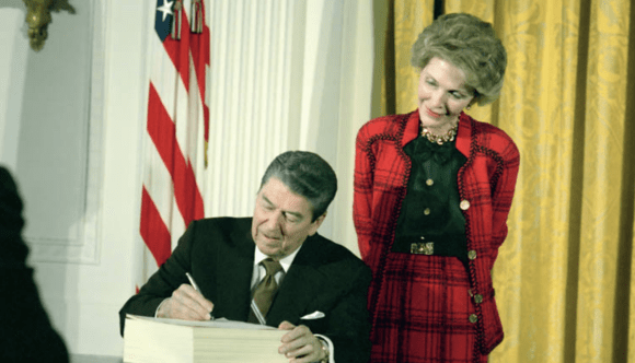 Watch: Ronald Reagan and his 'War on Drugs' – Timeline