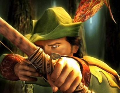 Image result for Robin Hood stealing