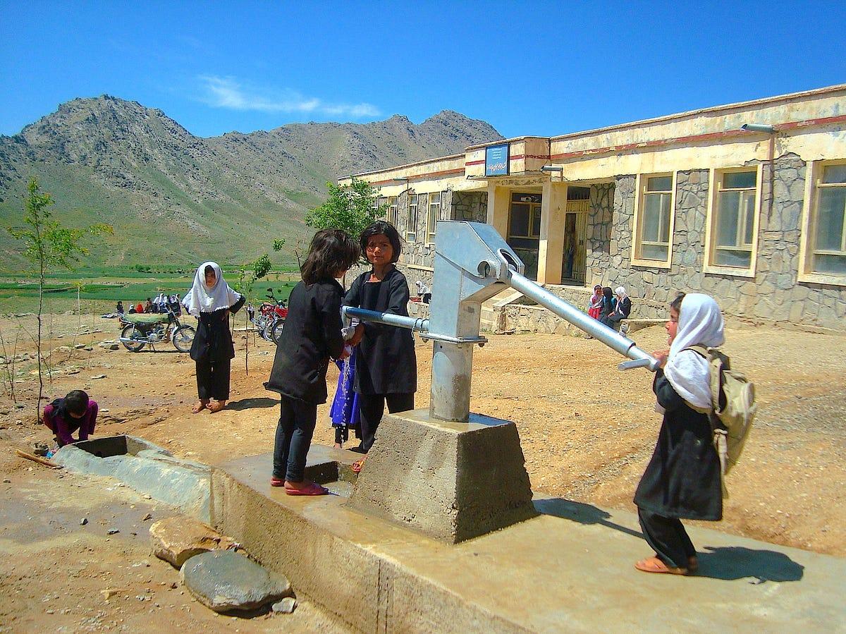 Upgrading Rural Afghanistan S Water Supply Global Waters