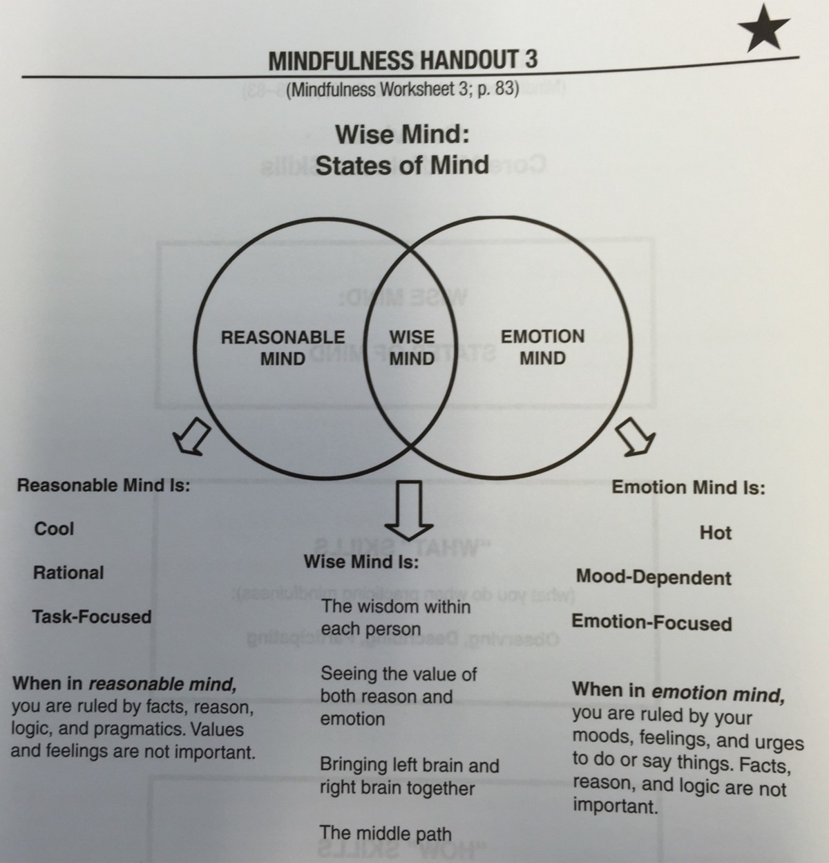 Wise Mind States Of Mind James Wakefield Medium