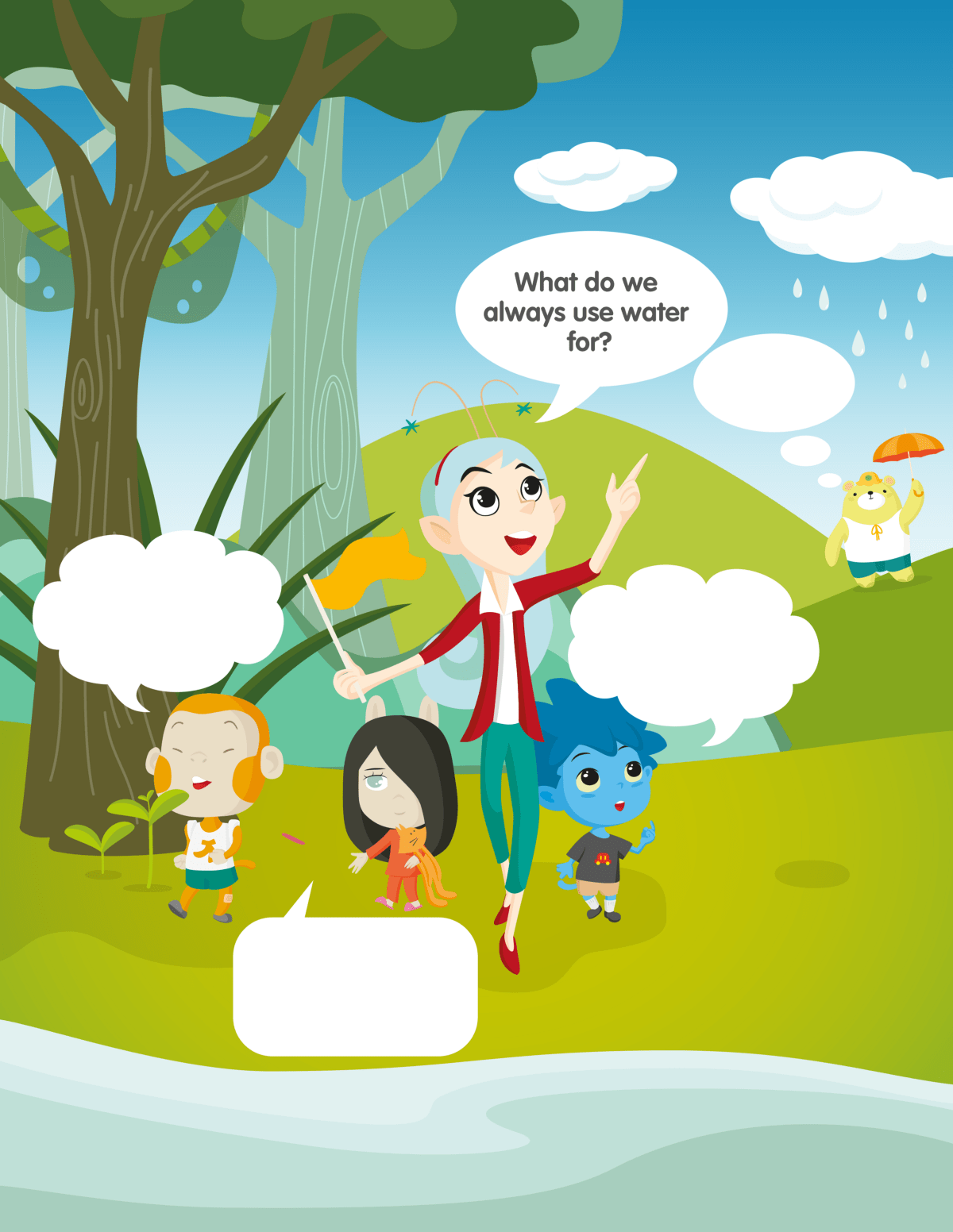Mini Lesson Plan The Water Cycle Littlelives