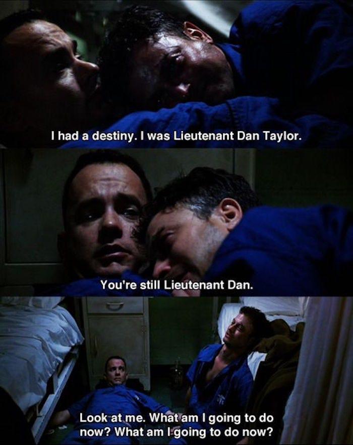 Lieutenant Dan Forrest Gump Quotes