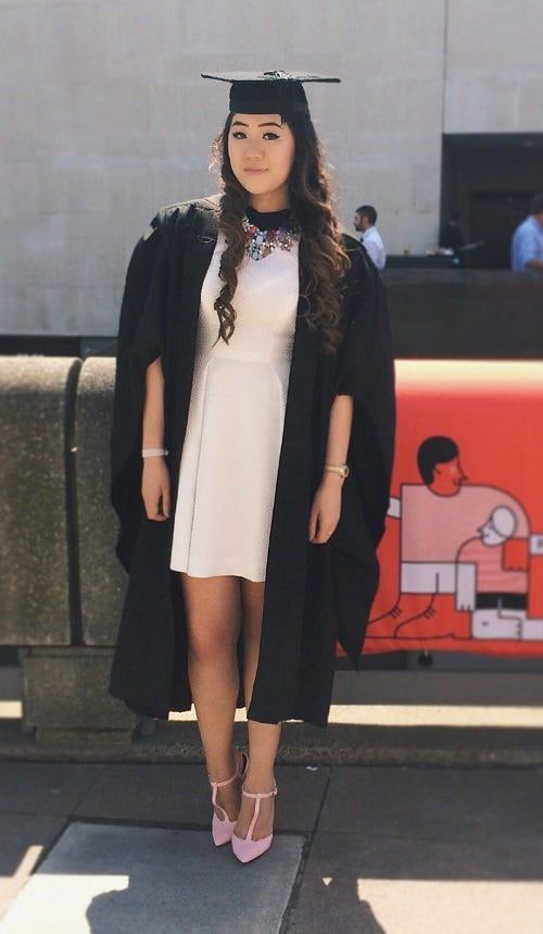 Graduate Dresses Simple Colorful
