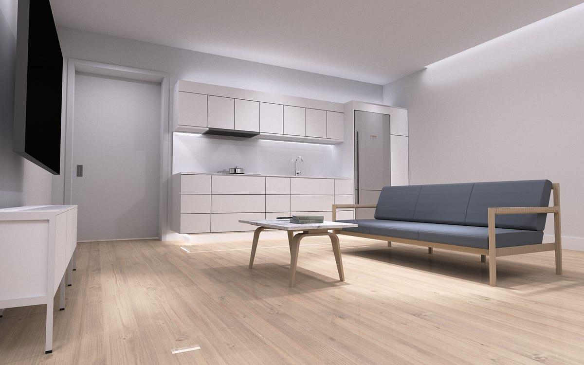 Modeling My Living Room In 3d Aaron S Blog Medium