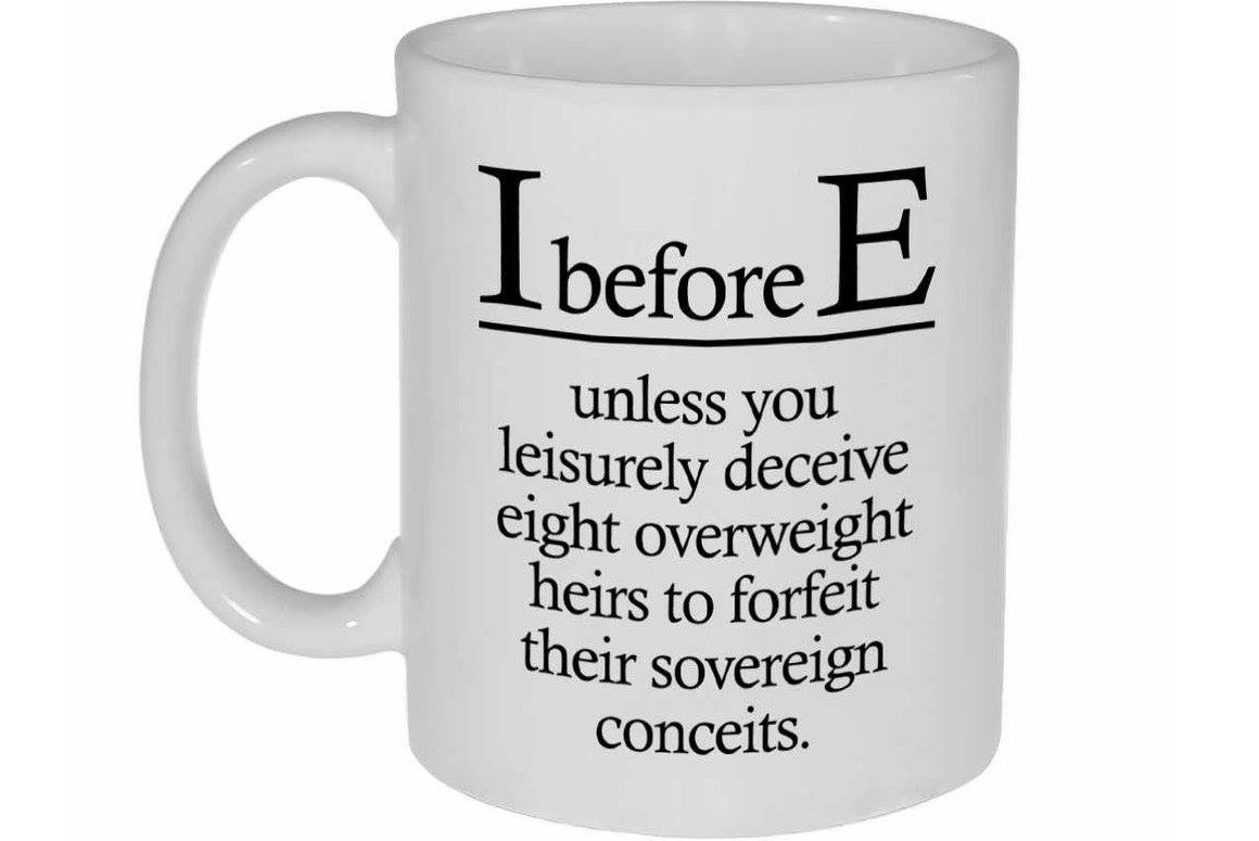 I Before E Except Like A Lot The Writing Cooperative