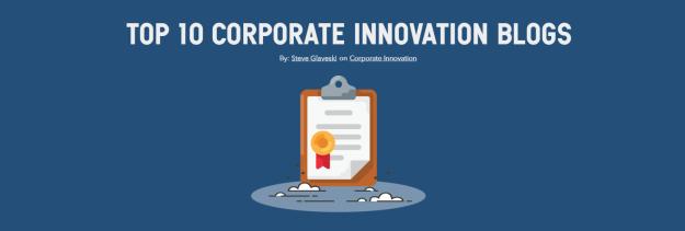 top 10 corporate innovation blogs – steve glaveski – medium