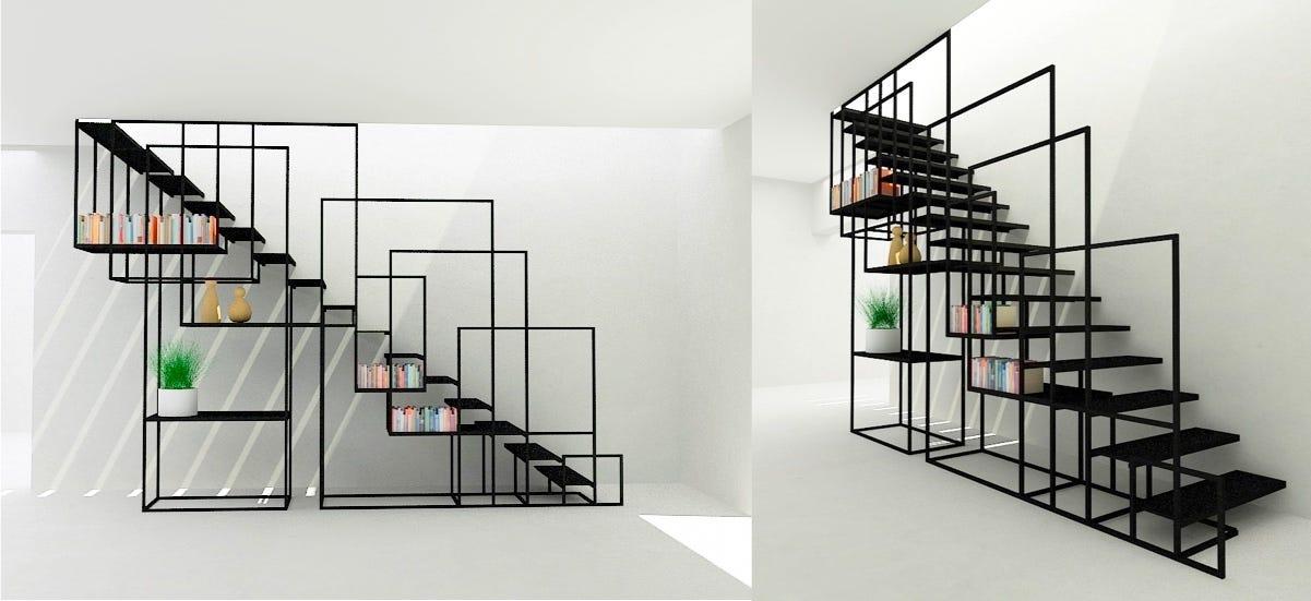 Kreativitas Desain Tangga Rumah Minimalis Yang Elegan