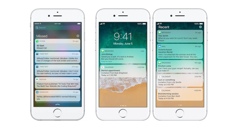 Image result for notifications ios 11 png