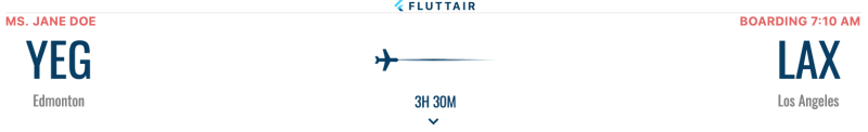 Flutter Vignette (Boarding Pass)….Step 1