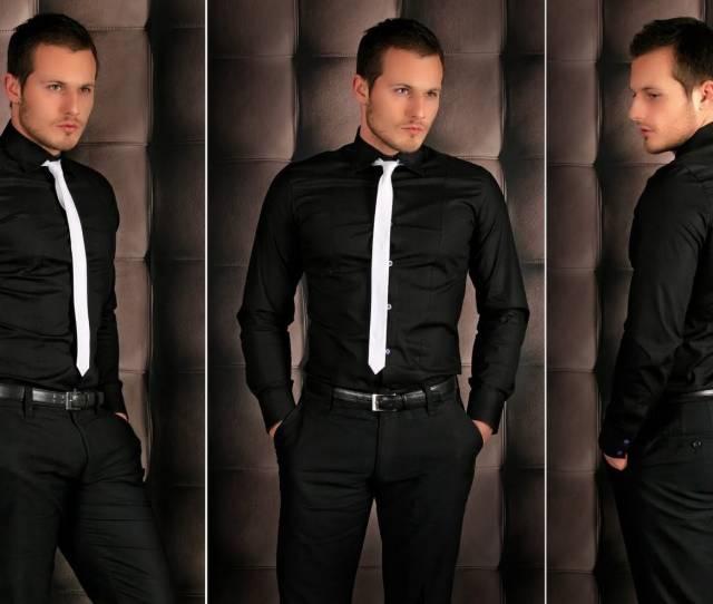Stop Wearing Black Dress Shirts